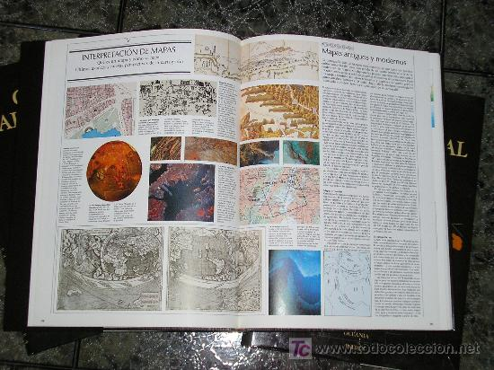 Enciclopedias de segunda mano: COLECCION DE 4 TOMOS GRAN ATLAS SALVAT UNIVERSAL - 1992 - COMO NUEVOS - Foto 3 - 16342981