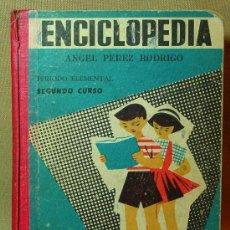 Enciclopedias de segunda mano: ENCICLOPEDIA, ECIR VALENCIA, ANGELES PEREZ RODRIGO, SEGUNDO CURSO, 2º, ELEMENTAL, . Lote 16509425