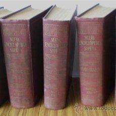 Enciclopedias de segunda mano: 5 TOMOS .. NUEVA ENCICLOPEDIA SOPENA 1957. Lote 17186092