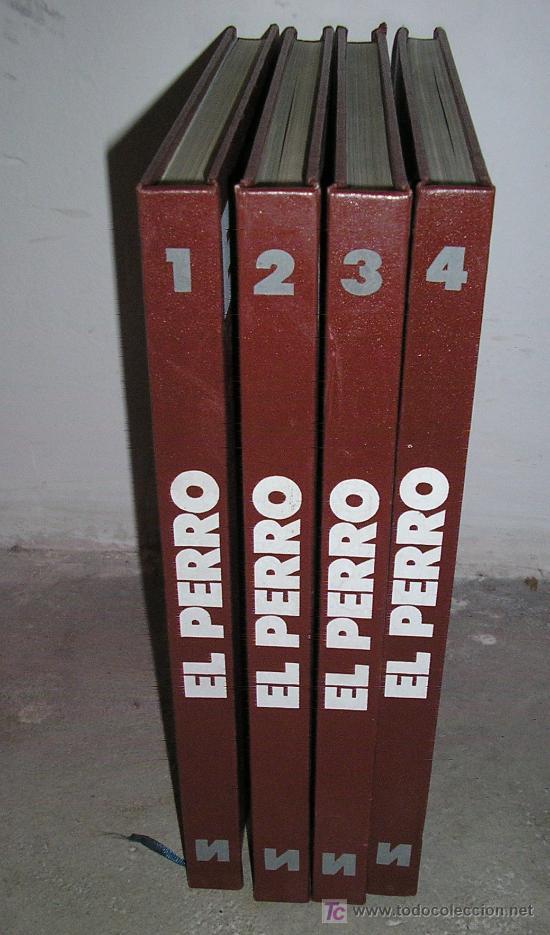 EL PERRO - EDICIONES NUEVA LENTE - 1982 TOMO 1 TOMO 2 TOMO 3 TOMO 4 (Libros de Segunda Mano - Enciclopedias)
