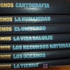 Enciclopedias de segunda mano: COSMOS : GRAN ATLAS SALVAT - 7 VOLÚMENES. Lote 23600286
