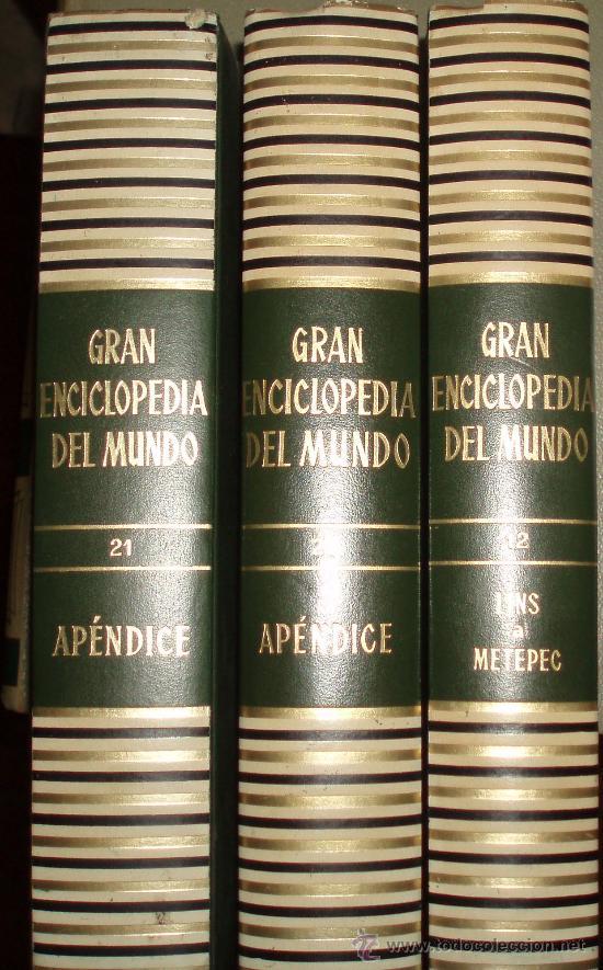GRAN ENCICLOPEDIA DEL MUNDO DE DURVAN 22 TOMOS (Libros de Segunda Mano - Enciclopedias)