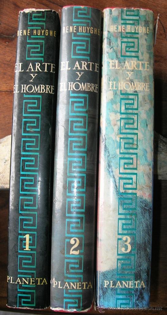 RENE HUYGUE - EL ARTE Y EL HOMBRE - 3 TOMOS - INTERESANTE ENCICLOPEDIA (Libros de Segunda Mano - Enciclopedias)
