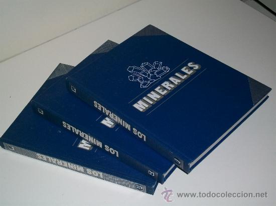 LOS MINERALES - DE LA A A LA Z - 3 TOMOS - EDICIÓN COMPLETA - ENCICLOPEDIA - ED. NUEVA LENTE (Libros de Segunda Mano - Enciclopedias)