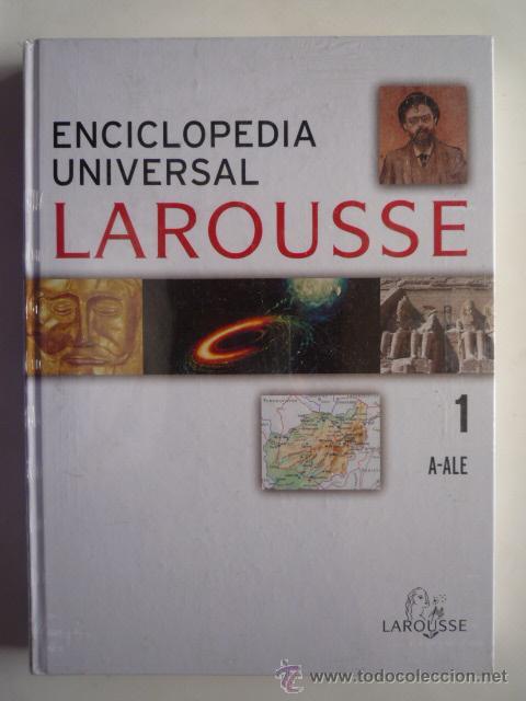 ENCICLOPEDIA UNIVERSAL LAROUSSE TOMO I (A-ALE). 188 PAGINAS, NUEVO CON PLASTICO. (Libros de Segunda Mano - Enciclopedias)