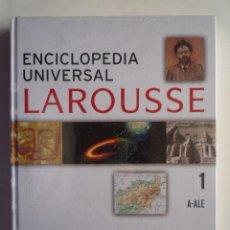 Enciclopedias de segunda mano: ENCICLOPEDIA UNIVERSAL LAROUSSE TOMO I (A-ALE). 188 PAGINAS, NUEVO CON PLASTICO.. Lote 20488352