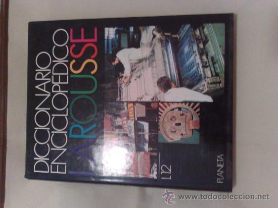 DICCIONARIO ENCICLOPEDICO LAROUSSE 1990 12 TOMOS + TOMO SUPLEMENTO (Libros de Segunda Mano - Enciclopedias)