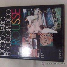 Enciclopedias de segunda mano: DICCIONARIO ENCICLOPEDICO LAROUSSE 1990 12 TOMOS + TOMO SUPLEMENTO. Lote 21124920