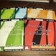 Enciclopedias de segunda mano: ENCICLOPEDIA MULTIMEDIA DEL ESTUDIANTE. GEOGRAFIA. MATEMATICAS. QUIMICA. SOCIALES. NATURALES. CD ROM. Lote 130674469