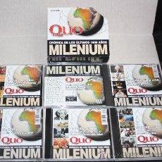 Enciclopedias de segunda mano: MILENIUM (CRÓNICA DE LOS ÚLTIMOS 1000 AÑOS): 6 CD'S PARA PC. Lote 26009333