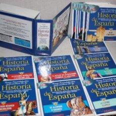 Enciclopedias de segunda mano: GRAN ENCICLOPEDIA INTERACTIVA DE LA HISTORIA DE ESPAÑA: 18 CD-ROMS PARA PC.. Lote 26009341