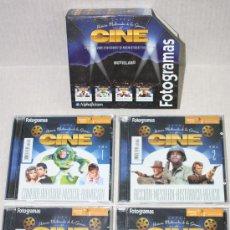 Enciclopedias de segunda mano: HISTORIA MULTIMEDIA DE LOS GENEROS DEL CINE: 4 CD-ROMS PARA PC.. Lote 27390461