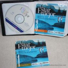 Enciclopedias de segunda mano: BIBLIOTECA MULTIMEDIA DE LA VIDA SANA (COMO ESTAR MEJOR): 8 CD-ROMS PARA PC.. Lote 26009344