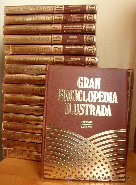 GRAN ENCICLOPEDIA ILUSTRADA EN 20 TOMOS AÑOS 80 / EDICION 1982, EDICIONES DANAE, PARA EDICIONES OCEA (Libros de Segunda Mano - Enciclopedias)