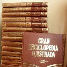 Enciclopedias de segunda mano: GRAN ENCICLOPEDIA ILUSTRADA EN 20 TOMOS AÑOS 80 / EDICION 1982, EDICIONES DANAE, PARA EDICIONES OCEA. Lote 27572282