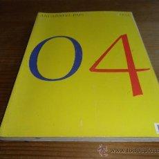 Enciclopedias de segunda mano: ANUARIO EL PAIS 2004. Lote 26706902