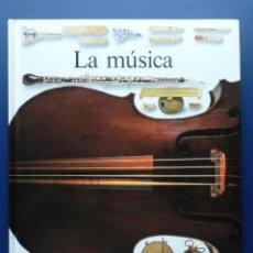 Enciclopedias de segunda mano: LA MUSICA - BIBLIOTECA VISUAL - CIRCULO DE LECTORES. Lote 25434234