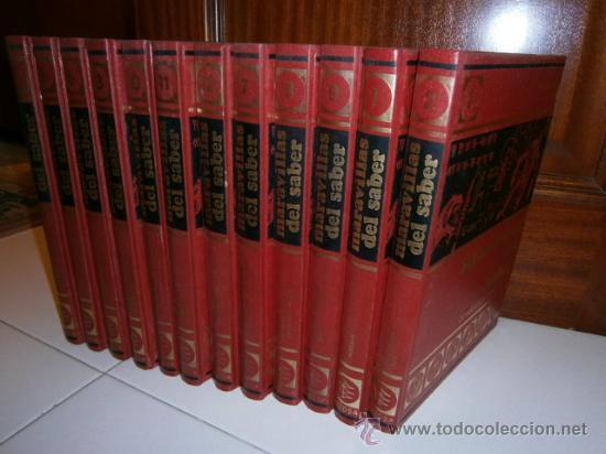 MARAVILLAS DEL SABER (CONSULTOR DIDÁCTICO) 12T POR VARIOS DE CREDSA EN BARCELONA 1977 7ª EDICIÓN (Libros de Segunda Mano - Enciclopedias)
