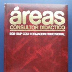 Enciclopedias de segunda mano: AREAS CONSULTOR DIDACTICO - LENGUA Y LITERATURA. Lote 26387983