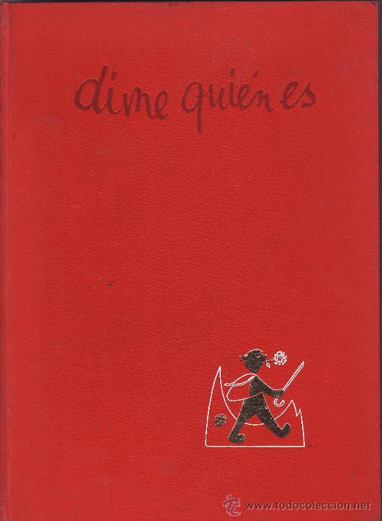 === LG03 - DIME QUIEN ES - ENCICLOPEDIA BASICA ARGOS - TOMO 6 (Libros de Segunda Mano - Enciclopedias)