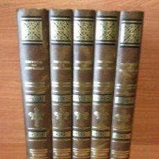 Enciclopedias de segunda mano: REVISTA DE ASTURIAS 1877-1883 - COMPLETA 5 TOMOS - FACSIMIL - ED. GEA - MUY BUEN ESTADO. Lote 90213290