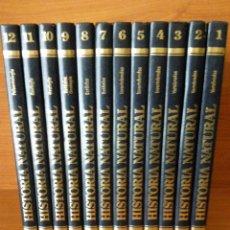 Enciclopedias de segunda mano: HISTORIA NATURAL - COMPLETA - 12 TOMOS - EDITORIAL OCEANO - INSTITUTO GALLACH - 1995. Lote 27494771