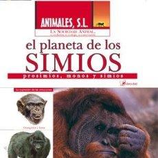 Enciclopedias de segunda mano: ANIMALES S L - LA SOCIEDAD ANIMAL - DVD + LIBRO - EL PLANETA DE LOS SIMIOS - NUEVO PRECINTADO. Lote 27679834