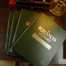 Enciclopedias de segunda mano: ENCICLOPEDIA ROMANCES REALES, ED. PLANETA, 1990, 5 TOMOS. Lote 27814479