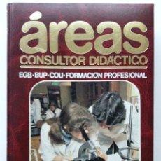 Enciclopedias de segunda mano: AREAS CONSULTOR DIDACTICO - FISICA Y QUIMICA -. Lote 28067162
