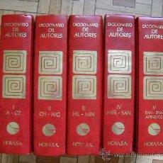 Enciclopedias de segunda mano: DICCIONARIO DE AUTORES BOMPIANI - HORA, 1988 - 5 TOMOS. Lote 28235556
