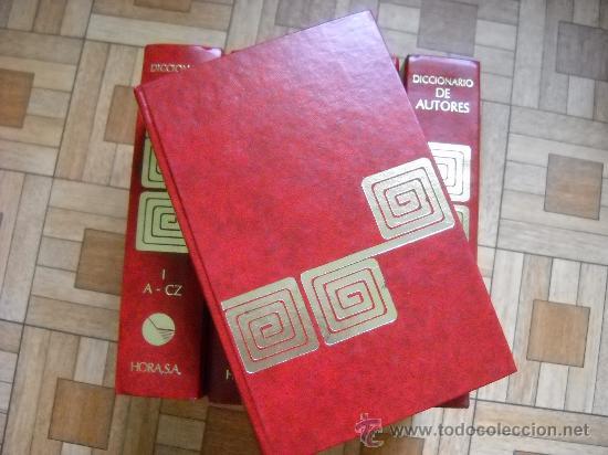 Enciclopedias de segunda mano: DICCIONARIO DE AUTORES BOMPIANI - HORA, 1988 - 5 TOMOS - Foto 2 - 28235556