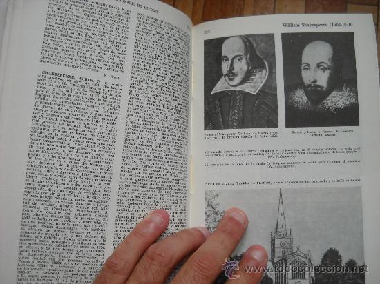 Enciclopedias de segunda mano: DICCIONARIO DE AUTORES BOMPIANI - HORA, 1988 - 5 TOMOS - Foto 4 - 28235556
