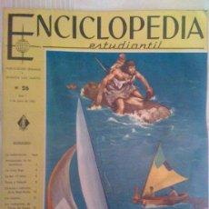 Enciclopedias de segunda mano: ENCICLOPEDIA ESTUDIANTIL. Nº 26 AÑO 1- JUNIO 1963 (LOT 4). Lote 28552321