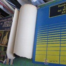 Enciclopedias de segunda mano: ENCICLOPEDIA ARGOS DEL MUNDO ANIMAL - 10 TOMOS - COMPLETO - AÑO 1972. Lote 28626363