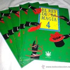 Enciclopedias de segunda mano: LOTE DE 5 LIBROS DE MAGIA. RBA. PRÁCTICAMENTE NUEVOS. CARTAS, PAÑUELOS, DISCOS. ENVIO ORDINARIO 6,5. Lote 50850662