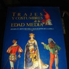 Enciclopedias de segunda mano: TRAJES Y COSTUMBRES DE LA EDAD MEDIA, BASADA EN MONUMENTOS Y MANUSCRITOS DE LA EDAD MEDIA, MADRID. Lote 29537765