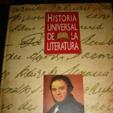 Enciclopedias de segunda mano: HISTORIA UNIVERSAL DE LA LITERATURA, LA NOVELA REALISTA: FRANCIA Y RUSIA, 13 ORBIS. Lote 29538001