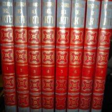 Enciclopedias de segunda mano: HISTORIA DEL ARTE, 8 TOMOS, J.PIJOAN, SALVAT EDITORES, BARCELONA 1970, 29X24CM. Lote 29857652