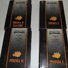 Enciclopedias de segunda mano: ESCOLMA DA LITERATURA GALEGA. CUATRO TOMOS. .RM55987. Lote 29911074