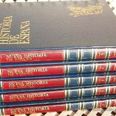 Enciclopedias de segunda mano: NUEVA HISTORIA DE ESPAÑA. MAS DE MIL PÁGS, EN 5 TOMOS DE LUJO. EDIT. D. DE BROUWER, SA, 1980.. Lote 29990857
