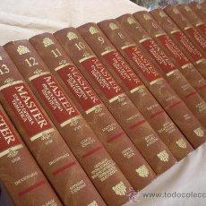 Enciclopedias de segunda mano: MASTER ENCICLOPEDIA TEMATICA, COMPLETA 14 VOLS.-INCLUYE 2 DICCIONARIOS - LOGSE. Lote 31805285