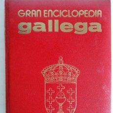 Enciclopedias de segunda mano: GALICIA. 'GRAN ENCICLOPEDIA GALLEGA' 30 TOMOS + 2 APENDICES. IMPECABLE. Lote 31374656