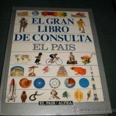 Enciclopedias de segunda mano: EL GRAN LIBRO DE CONSULTA EL PAIS. Lote 31986599
