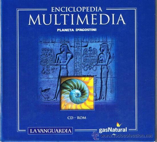 12 CD-ROM ENCICLOPEDIA MÁS 5 CD-ROM ATLAS MULTIMEDIA - PLANETA DE AGOSTINI (Libros de Segunda Mano - Enciclopedias)