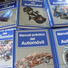 Enciclopedias de segunda mano: MANUAL PRACTICO DEL AUTOMOVIL. COMPLETA EN 6 TOMOS (GE3). Lote 170190402