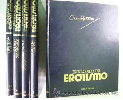 ENCICLOPEDIA DE EROTISMO (4 VOLÚMENES) 1976 (Libros de Segunda Mano - Enciclopedias)