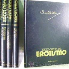 Enciclopedias de segunda mano: ENCICLOPEDIA DE EROTISMO (4 VOLÚMENES) 1976. Lote 34164520