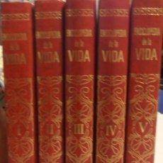 Enciclopedias de segunda mano: ENCICLOPEDIA DE LA VIDA, EDITORIAL BRUGUERA S.A.. Lote 34475536