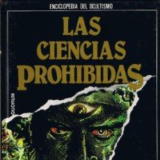 Livres d'occasion: M - ENCICLOPEDIA OCULTISMO - Nº 8 - LAS CIENCIAS PROHIBIDAS -1988-PODERES OCULTOS DE LA MENTE. Lote 34497694
