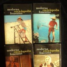 Enciclopedias de segunda mano: MODERNA ENCICLOPEDIA FEMENINA. VANNA CHIRONE. ED. LUIS MIRACLE. 1967 4 VOL. . Lote 35036112